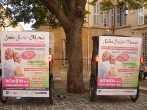 Salon Senior Mania  à Aix en Provence du 12 au 15 octobre 2012 au Parc Jourdan