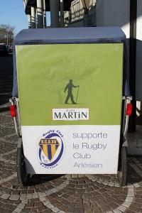 Jean Martin, partenaire du Rugby club Arlésien.