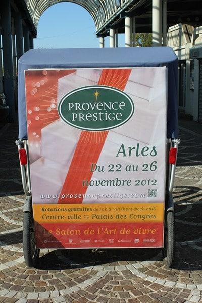 Provence prestige 2012: Transport gratuit en vélo taco et calèches du 22 au 26 Novembre.
