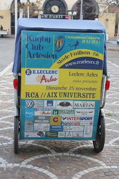 Rugby Club Arlésien reçoit Aix Université Club le 25 Novembre 2012 au stade Mailhan.
