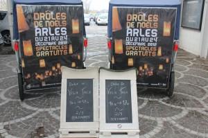 Drôles de Noëls à Arles du 21 au 24 Décembre 2012