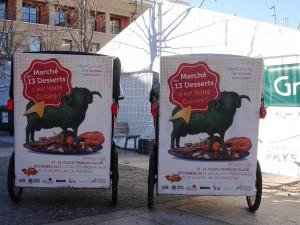 Marché des 13 desserts Marché 17 – 24 Décembre | 10h à 19h | Place François Villon, les allées provençales | Entrée libre |