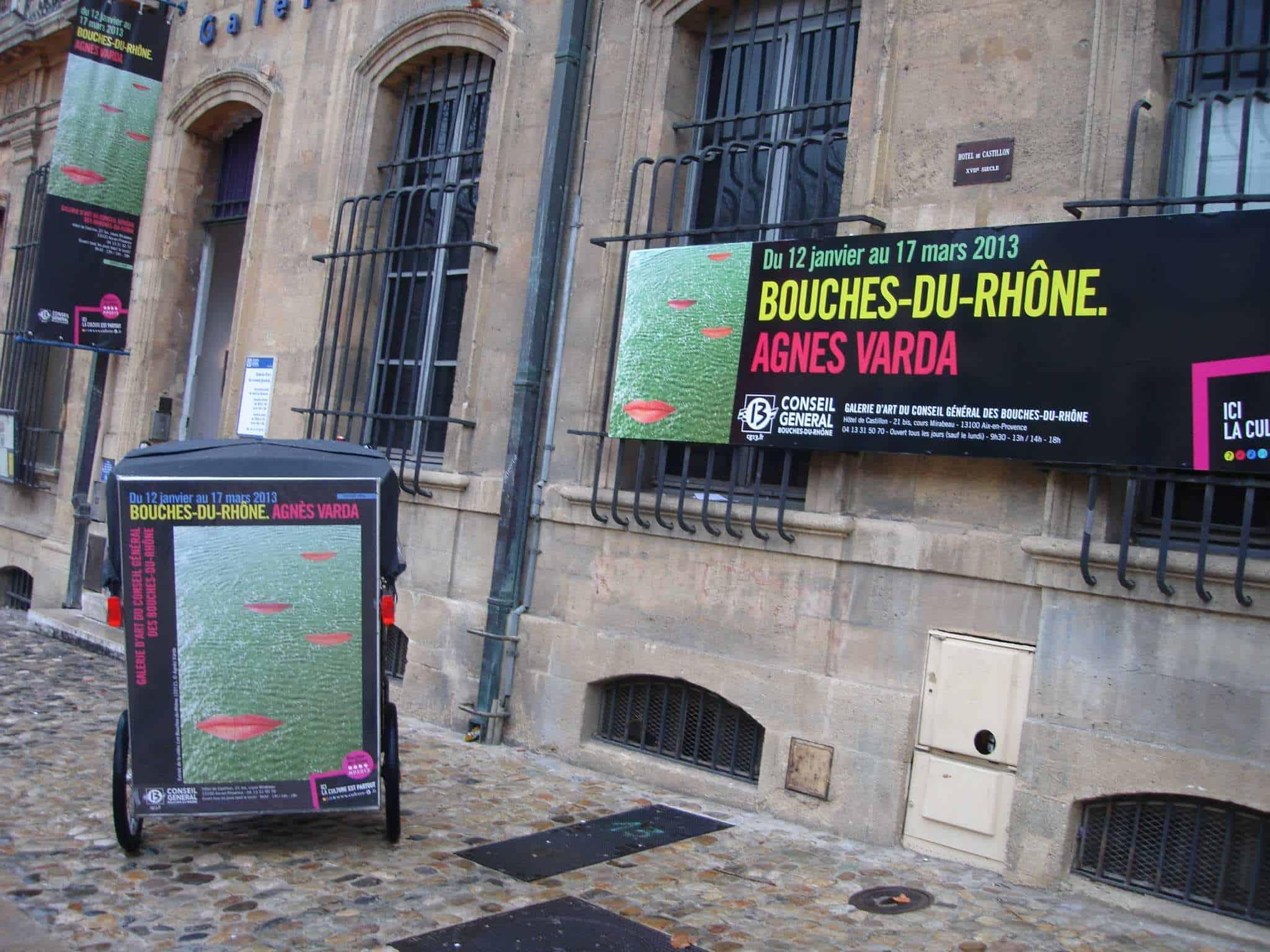 Exposition Agnés Varda à la galerie d'Art d'Aix en Provence pour MP2013 du 12 au 17 Janvier.