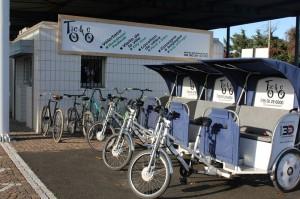 Nos nouveaux locaux Taco and Co en gare d'Arles