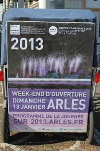 Marseille Provence 2013: ouverture officielle le dimanche 13 Janvier 2013.