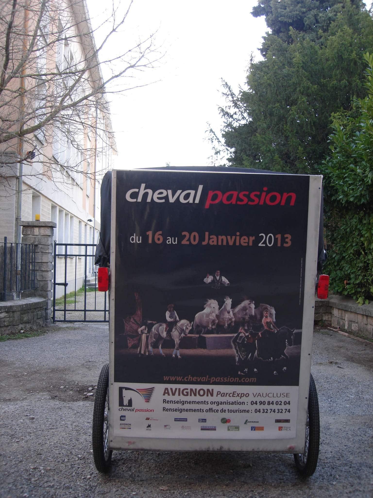 Cheval Passion  au parc des expositions d'Avignon du 16 au 20 Janvier 2013