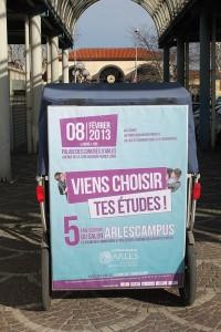Arles campus 2013, vendredi 8 février à Arles.