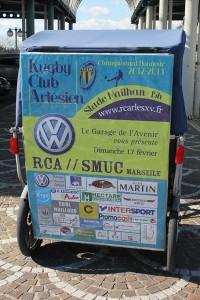 Le garage de l'avenir Volkswagen vous invite au match RCA/SMUC le 17 février 2013 au stade Mailhan d'Arles