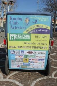 RCA/Ouest Provence le 24 Mars 2013 au stade Mailhan d'Arles