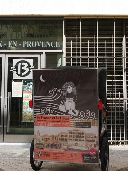 France-Liban: Regards croisées sur l'exil en bande dessinée du 28 Mars au 8 Juin 2013 à Aix.