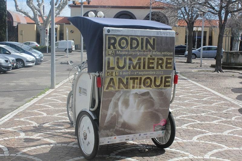 Rodin à Arles jusqu'au 1er Septembre 2013: Transport gratuit vers le Musée de l'Arles Antique.