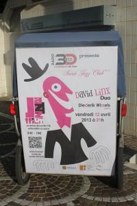 David Linx Duo au Jazz'Trium de 3DFM à Arles, vendredi 12 Avril 2013.