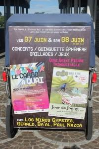 Cargo à quai by Eco Fabrik  les 7 et 8 Juin 2013 à Arles sur le quai Saint Pierre de Trinquetaille