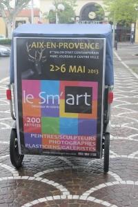 Sm'Art, salon Méditerranéen d'Art contemporain à Aix en Provence du 2 au 06 Mai 2013.
