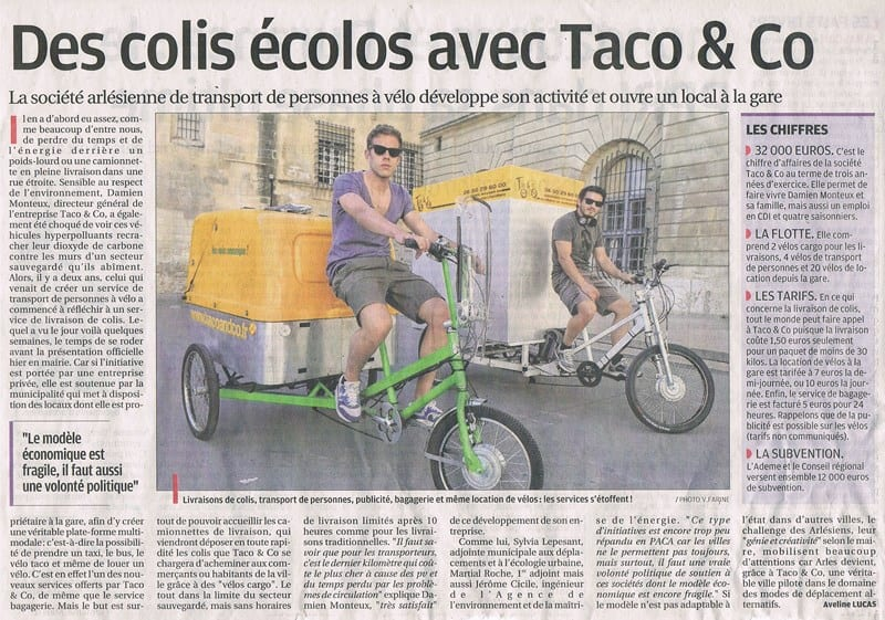 La Provence du 17 Avril 2013