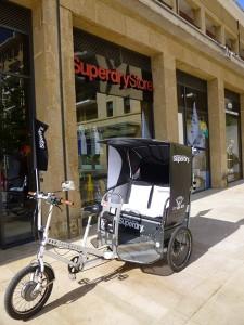 Superdry store à Aix: Transport gratuit vers votre Superdry avec Taco and Co