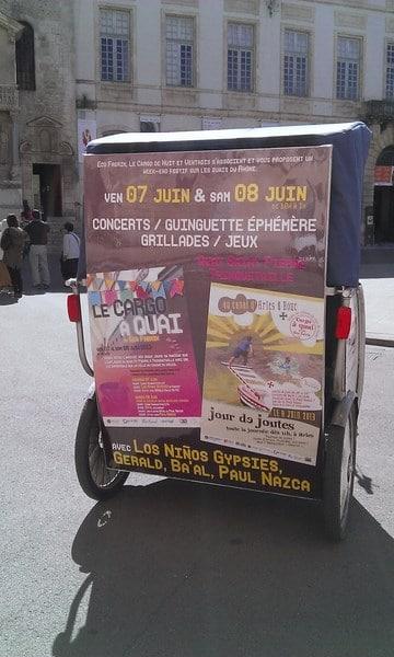 Jour de Joutes le 8 Juin 2013 sur le canal d'Arles à Bouc à partir de 10h00.