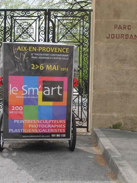 Sm'Art au Parc jourdan d'Aix en provence