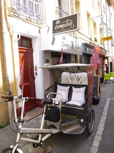 Au Comptoir, 18 rue Boulegon, Aix en Provence
