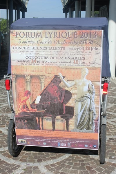 Forum lyrique 2013 à Arles