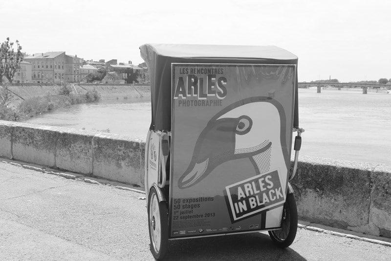 Transport écologique pendant Les Rencontres d'Arles 2013
