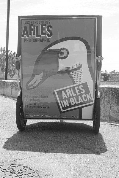 Les Rencontres d'Arles 2013: Transport écologique avecTaco and Co, partenaire du festival de la photographie à Arles