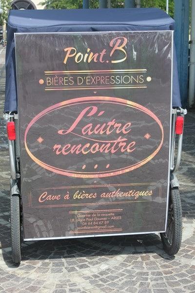 Point B, cave à bières sur Arles
