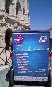 Les Suds à Arles, festival de musique du Monde,  du 8 au 14 Juillet 2013 à Arles.