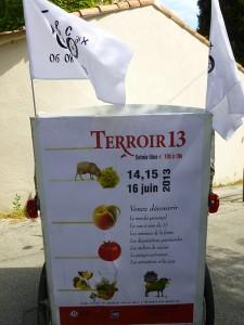 Terroir 13 à Marseille du 14 au 16 Juin à l'Hotel du Département.
