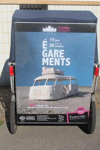 Égarements en Camargue au domaine du château d'Avignon jusqu'au 20 octobre 2013.
