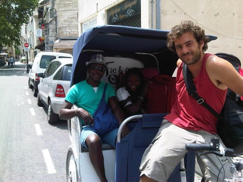 Les Suds à Arles, Taco and Co transporte les artistes pendant tout le festival….