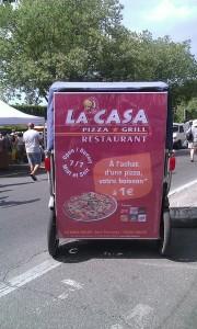 Restaurant La Casa Pizza Grill, zone fourchon, à Arles.