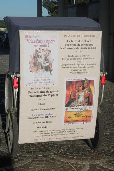 Festival du film péplum à Arles du 25 au 30 Août 2013 au Théatre Antique.