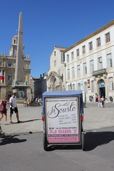 La Sousto, restaurant pizzeria à la Roquette, Arles