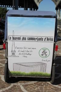 Tournoi des commerçants d'Arles samedi 31 Août 2013 sur la place de la république.