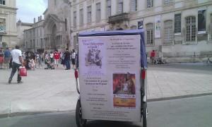 Festival Arelate 2013 à Arles:Transport ludique pour toute la famille avec Taco and Co
