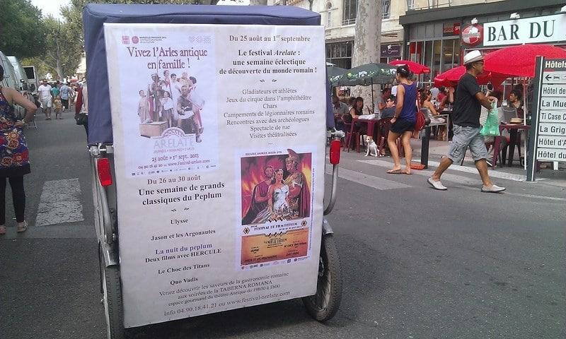 Festival du film Peplum au théâtre antique d'Arles jusqu'au 30 Août 2013