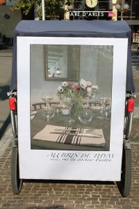 Au Brin de Thym, restaurant provençal, 22 rue du docteur Fanton à Arles.