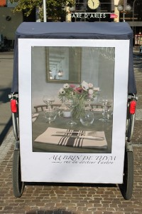 Au brin de thym, restaurant provençale à Arles