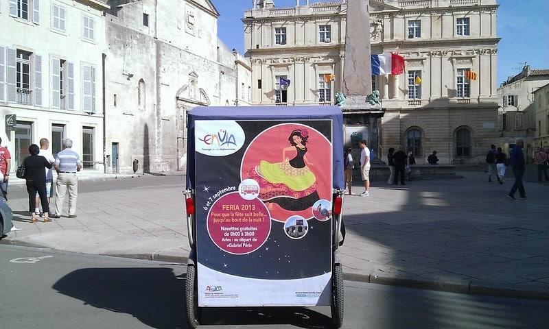 Navettes gratuites pour féria du riz 2013 à Arles