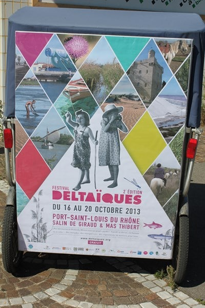 Festival Deltaïques du 16 au 20 Octobre 2013 à Port Saint Louis du Rhône, Salin de Giraud et Mas thibert