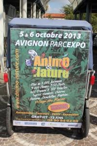 Salon Animo et Nature 2013 au Parc des expos d'Avignon les 5 et 6 octobre 2013
