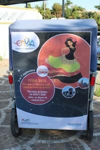 Feria du riz 2013 à Arles: Envia vous offre le transport du 6 au 8 septembre de 0h00 à 3h00.
