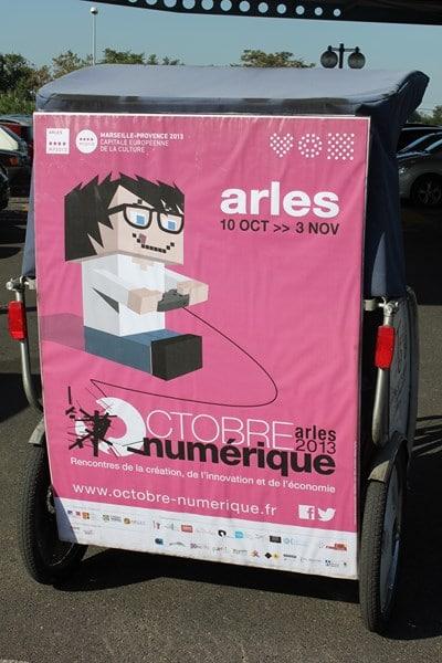 Octobre Numérique 2013, du 10 octobre au 03 Novembre 2013 à Arles.