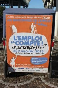 Les Rencontres de l'Emploi du 2 au 6 décembre 2013 à Arles.