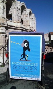 Les Promenades Sonores d'Arles à découvrir en vélo taco.