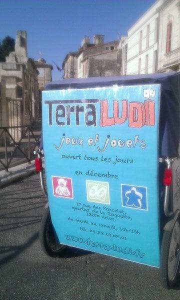 Terra Ludi, magasin de jeux et jouets sur Arles