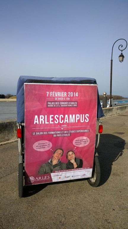 Arles Campus 2014, vendredi 7 février au Palais des Congrès d'Arles.