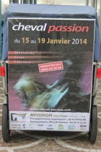 Invitations pour Cheval Passion à Avignon du 15 au 19 Janvier 2013
