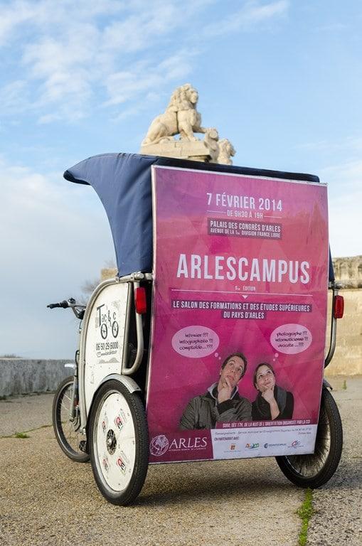 Ouverture du salon Arles Campus 2014 ce vendredi 7 février au Palais des Congrés d'Arles
